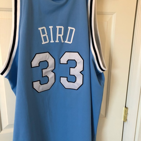 cheap for discount b8d32 08103 Authentic Larry Bird Indiana State Jersey